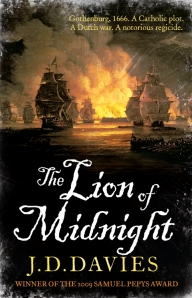 Cover of the UK edition of The Lion of Midnight