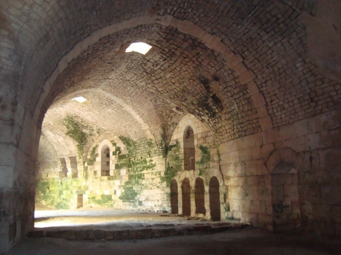 The Hall of the Knights, Krak des Chevaliers, November 2010