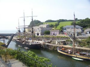 Charlestown, Cornwall - my kind of harbour