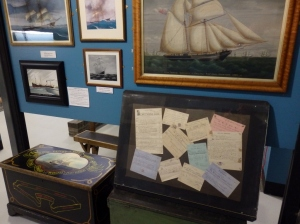 A display at Porthmadog maritime museum