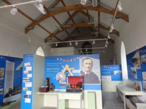 The interior of the Llyn Maritime Museum, Nefyn