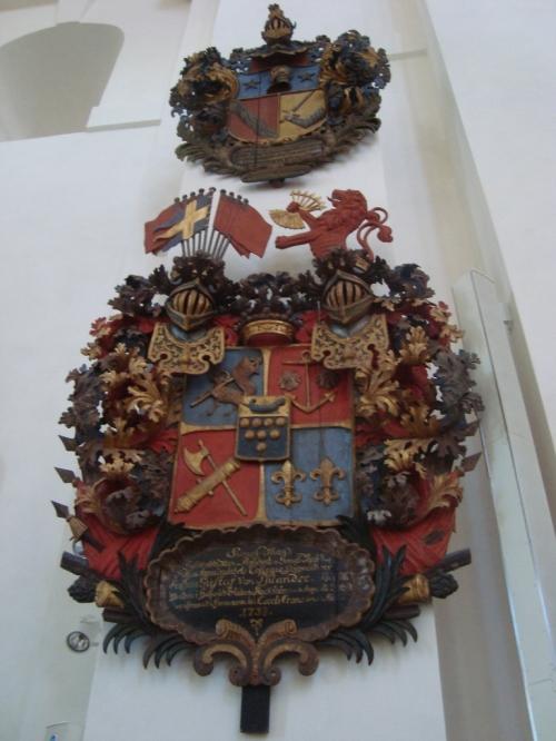 Gustav von Psilander memorial, Kalmar church
