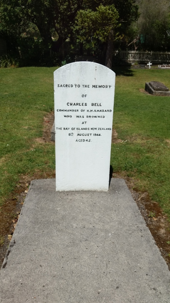 Gravestone of Captain Charles Bell